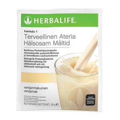 proteinpulver med vaniljsmak